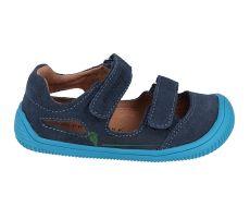 Protetika barefoot sandálky Berg navy