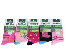 Bambusové ponožky AURA VIA - pro holky
