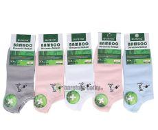Bambusové ponožky kotníkové AURA VIA - dámské