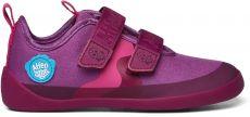 Dětské barefoot botičky Affenzahn Cotton Sneaker Bird