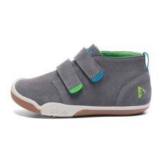 Plae Lou Suede Charcoal