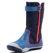 Plae Camille Shimmer Suede/Nylon Navy